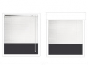 Inside blinds / Outside blinds