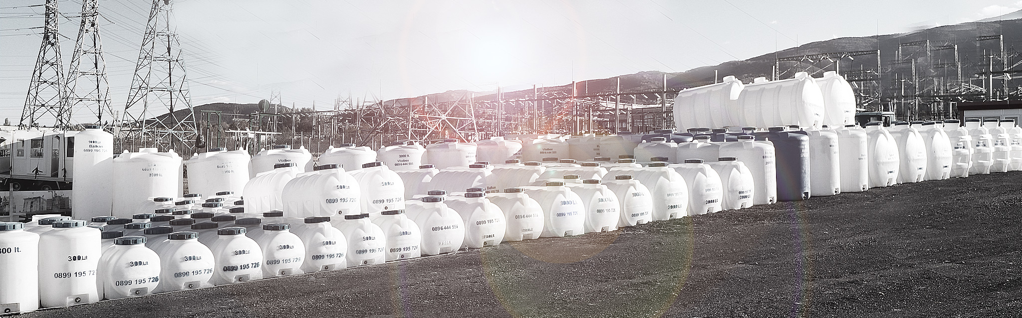 Tanks for septic pit